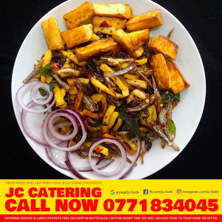 Dry Fish Bites | Appetizer with Manioc fries