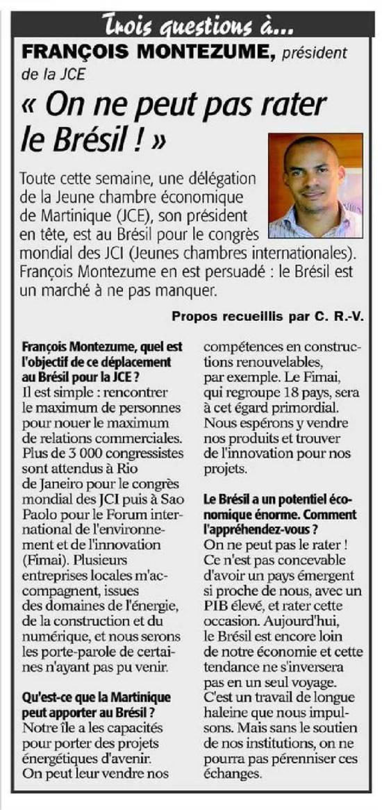 interview francois