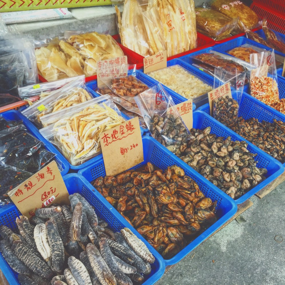 Dried Seafood - a specialty of the fishing village