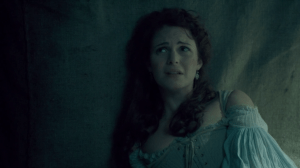 Constance looks distressed.