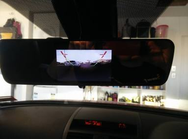 Clip On Reverse Camera Screen