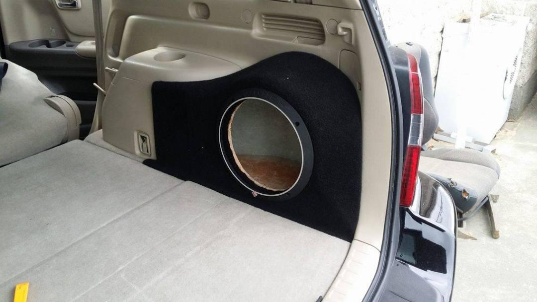 Custom Subwoofer Install - 2
