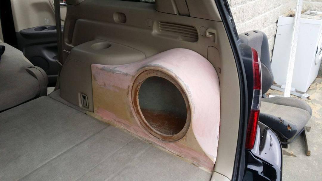 Custom Subwoofer Install - 1