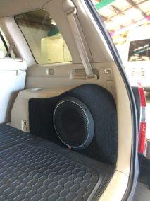 Custom Subwoofer Install - 3