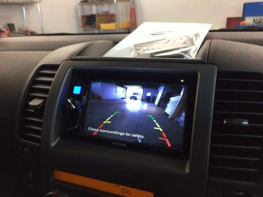 Nissan Pathfinder - Alpine IVE-W560A Head-unit & Reversing Camera Install