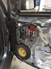 Q Series Kicker Sound Deadening