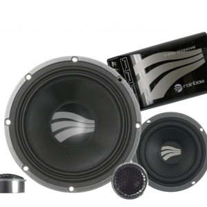 Rainbow SL-C6.3 PRO 3-way 2 ohm component speaker set from JC Installs in Christchurch