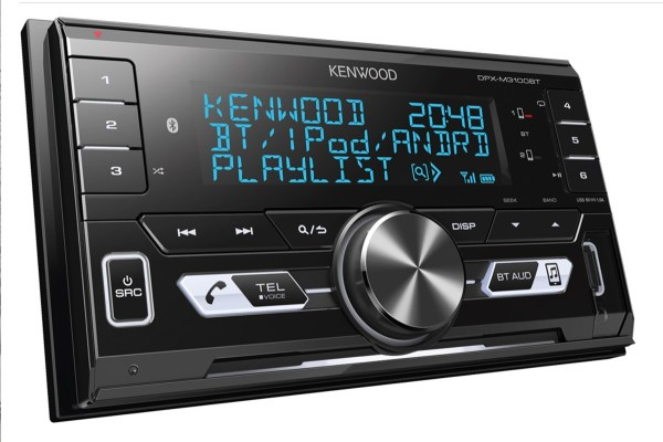 Kenwood DPX-M3100BT Double Din car audio from JC Installs in Christchurch