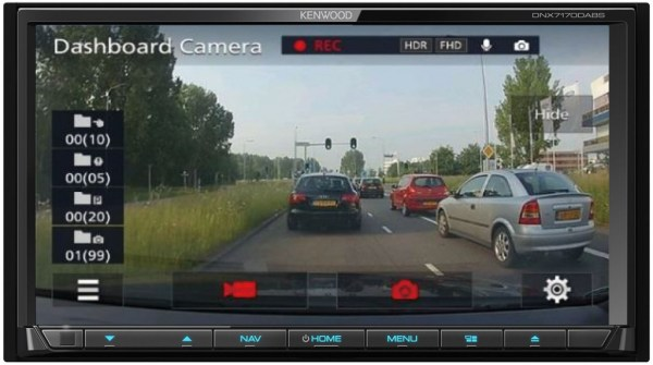Kenwood DRV-N520 Dash Cam from JC Installs in Christchurch
