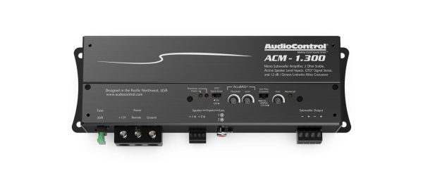 AudioControl ACM-1.300 300w monoblock micro amplifier from JC Installs in Christchurch