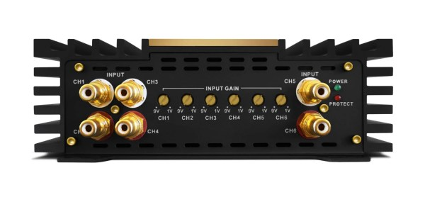 Zapco Z-150.6 AP 6 channel amplifier from JC Installs in Christchurch
