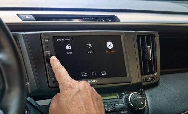 Sony XAV-AX1000 double DIN headunit from JC Installs in Christchurch