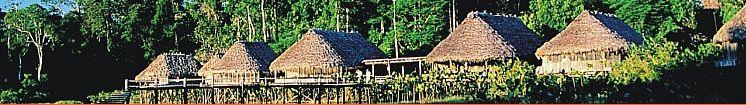 Ecolodge en la amzonia (Kapawi) regentado por los Achuar