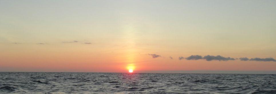 Momentos para meditar. Las excelentes puestas de sol