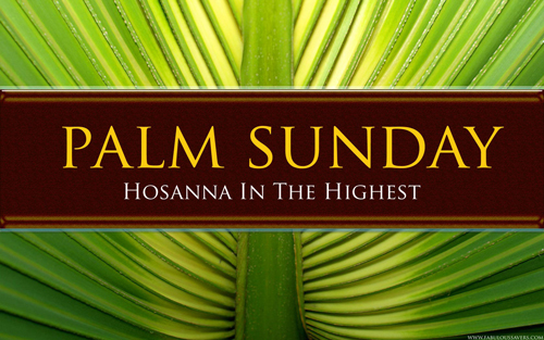 Community Palm Sunday Service