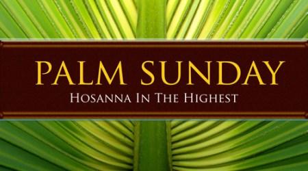 Community Palm Sunday Service