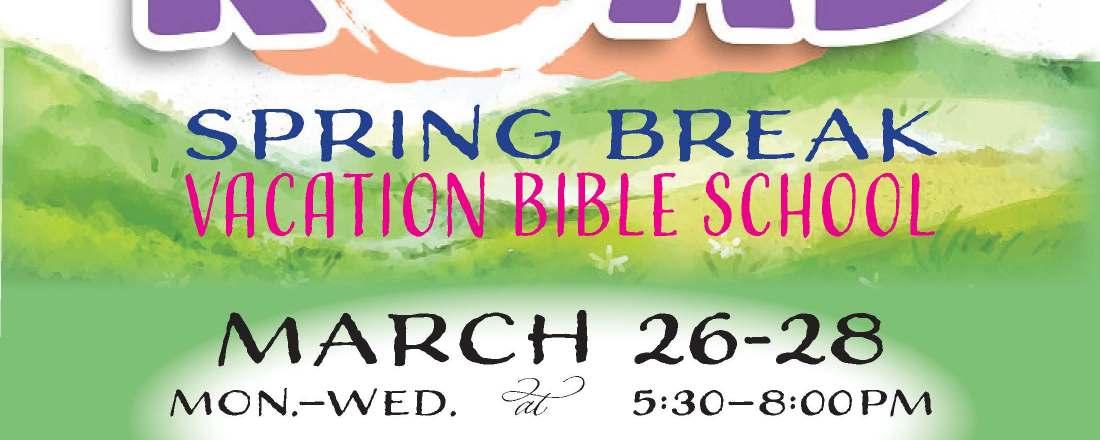 Spring Break VBS Promo Poster 2018
