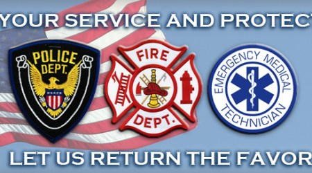 Appreciation Dinner for First Responders