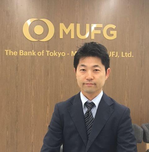 監事紹介:霜田直人監事(三菱東京UFJ銀行)