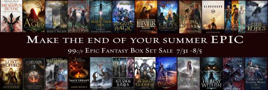 Epic Fantasy August Book Promotion