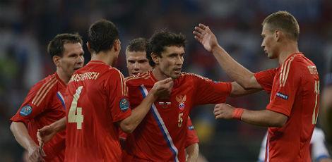 Seleção Russa: futebol alegre que lembrou a Iugoslávia das antigas.