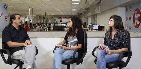 TV JC recebe Eduardo Mara, do Comitê pela Constituinte Exclusiva / Imagem/TV JC