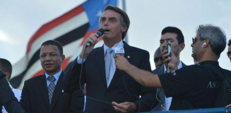 Considerado um dos deputados mais conservadores e crítico do PT, o congressista recorre principalmente ao esquema de corrupção na Petrobras / Foto: Fabio Rodrigues Pozzebom/ Agência Brasil