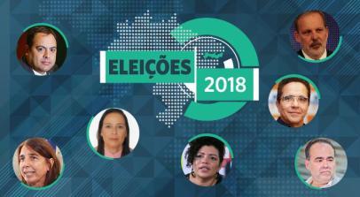 São sete candidatos ao governo de Pernambuco / Artes JC