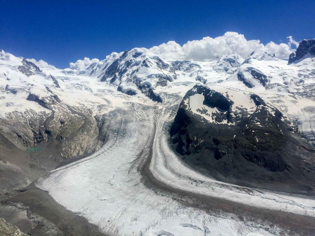 Monte rossa zermatt suiza