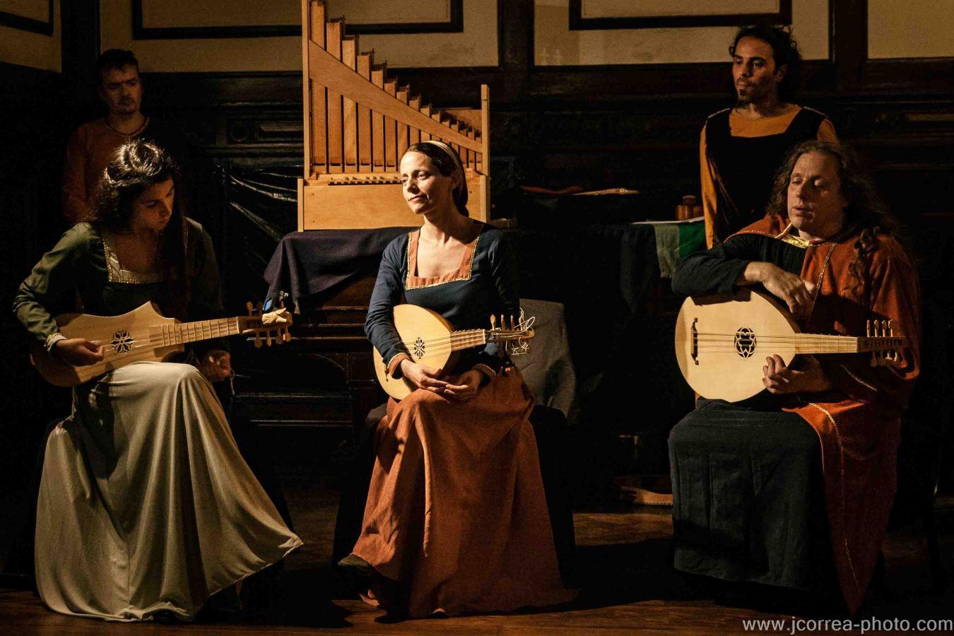 Concierto barroco Caba roxi In Pro Ibis, Ensamble Medieval