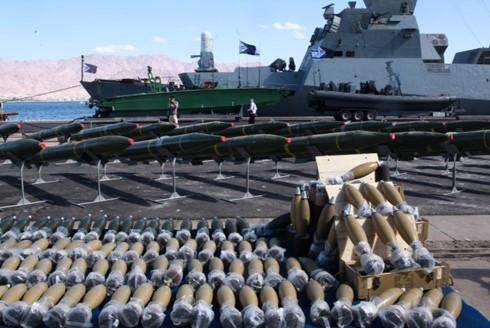 Des armes iraniennes destinées au Hamas et saisies par Tsahal sur le navire Klos-C intercepté en mer Rouge