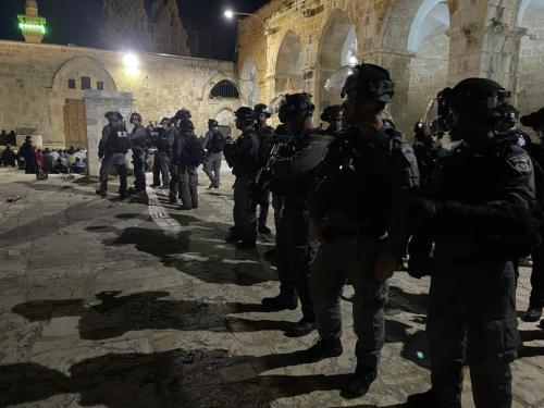 Police d'Israël