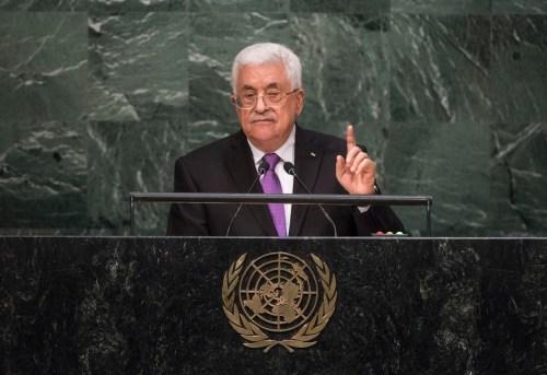 Abbas, UN