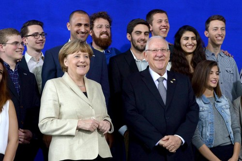 Angela Merkel, Reuven Rivlin
