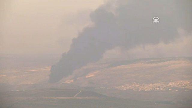 הטוררקים תוקפים בצפון סוריה // צילום מסך יוטיוב