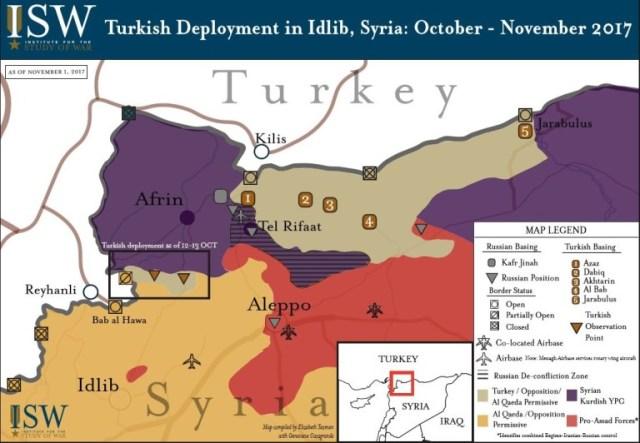 מקור: המכון לחקר המלחמה (Institute for the Study of War)