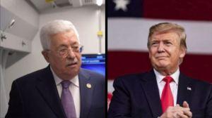 """נשיא ארה""""ב טראמפ (מימין, מתוך אינסטרגם), עבאס (משמאל, מתוך פייסבוק)"""