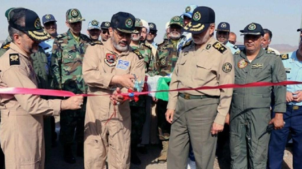 חדש: צבא איראן חנך ביה