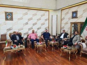 פגישת בכירי חמאס באיראן ב-2017