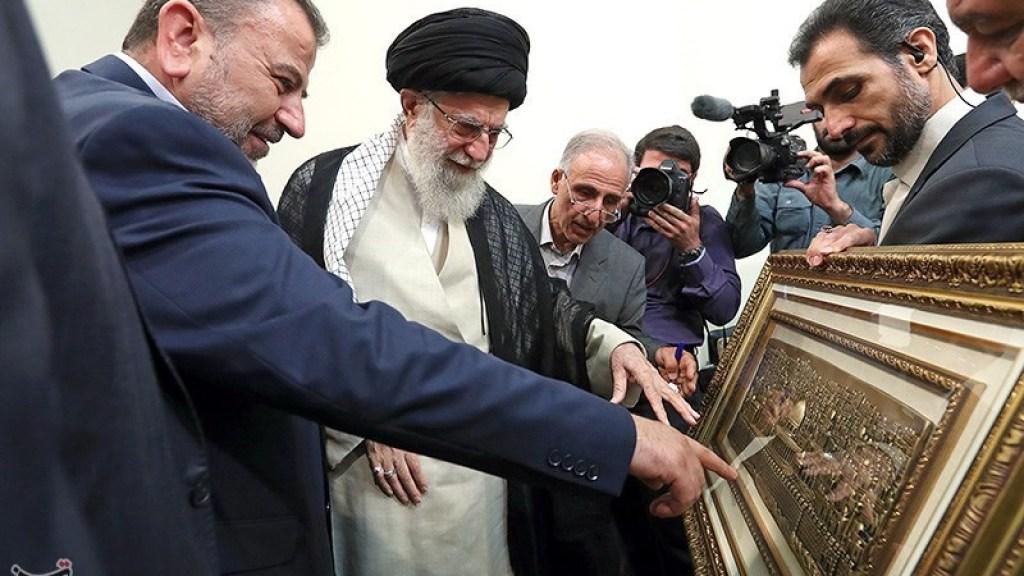 """חמינאי: """"אם ירצה האל, אני אתפלל את תפילותיי במסגד אל אקצא"""""""