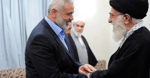 כך מסייעת איראן לחמאס.איסמעיל הנייה והמנהיג העליון רוחאני