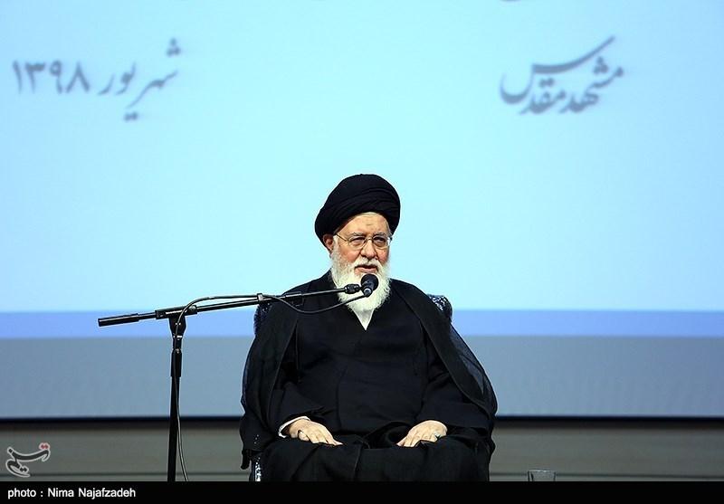 האיתאללה אחמד עלם אלהדא Ayatollah Ahmad Alamolhoda דרשן תפילות יום השישי בעיר משהד