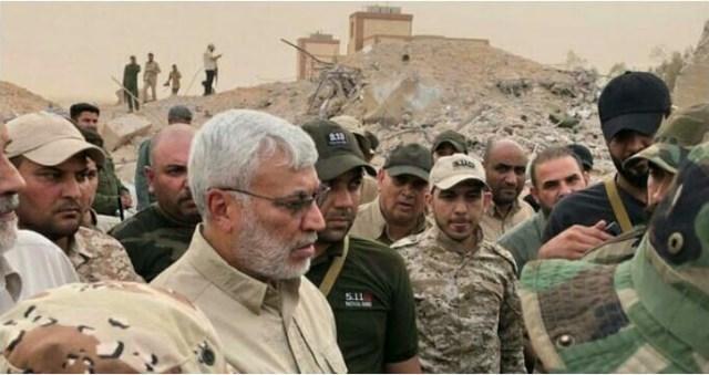 ביקור אל מוהנדס ביקור סולימאני ההתבססות האיראנית באזור  באלבוכמאל // מקור: המרכז למורשת מודיעין