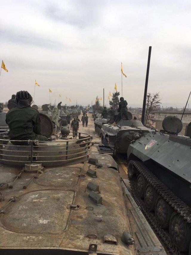 כוחות חזבאללה לאחר הקרב באל-קוּיסאַר, סוריה