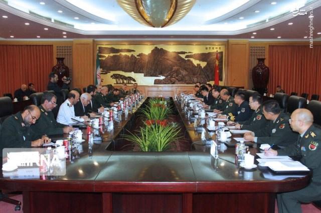 פגישות עבודה רבות בין צבא איראן לבין צבא סין