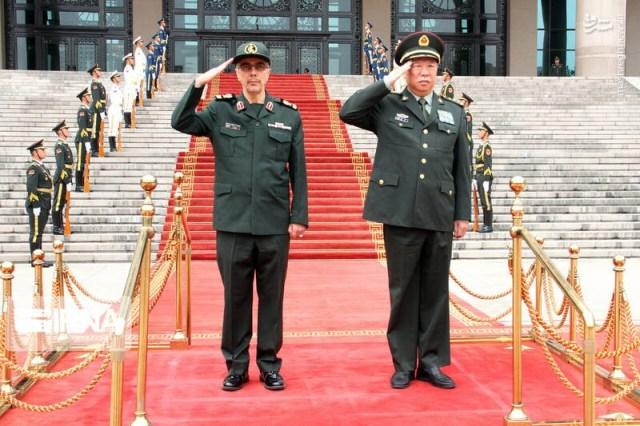 "רמטכ""ל צבא סין ורמטכ""ל צבא איראן"