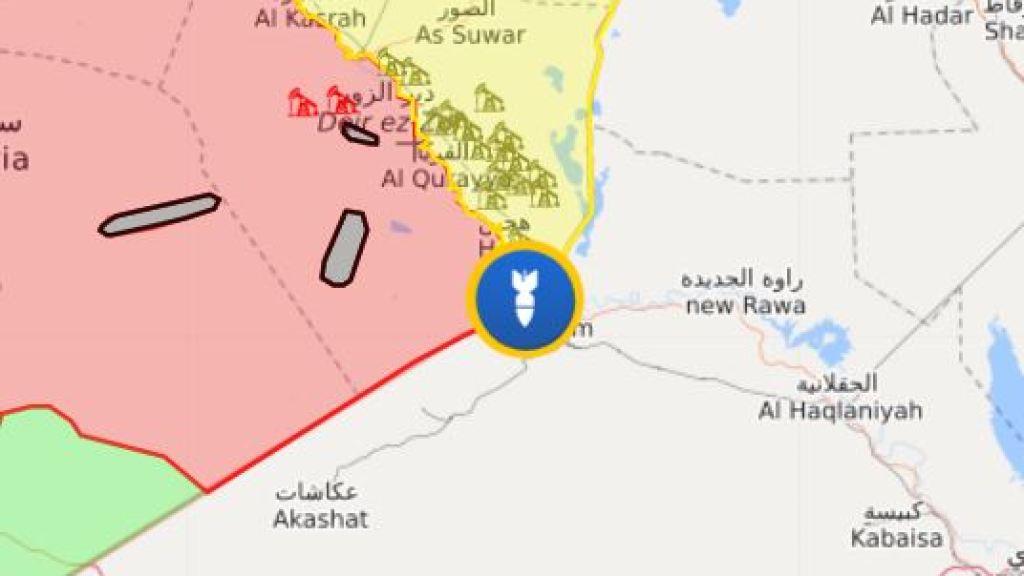 דיווח: תקיפה בגבול עיראק -סוריה