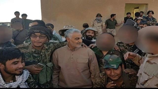 ביקורו של קאסם סולימאני בגבול סוריה-עיראק
