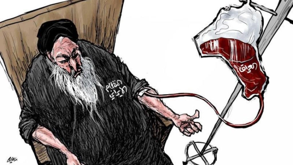 איראן מוטרדת מהמשך המחאה בעיראק