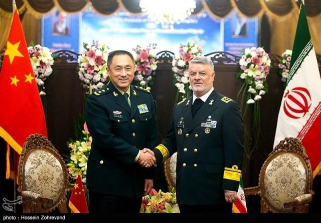 פגישות רבות בין איראן לסין ברמה הצבאית במטרה להדק אתה יחסים